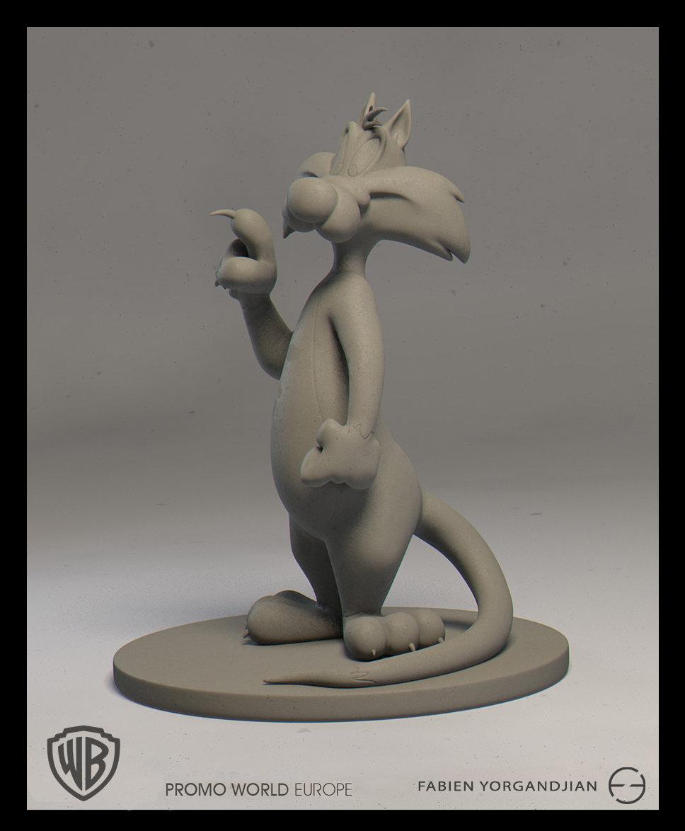 Fabien yorgandjian warner sculpt sylvestre 02