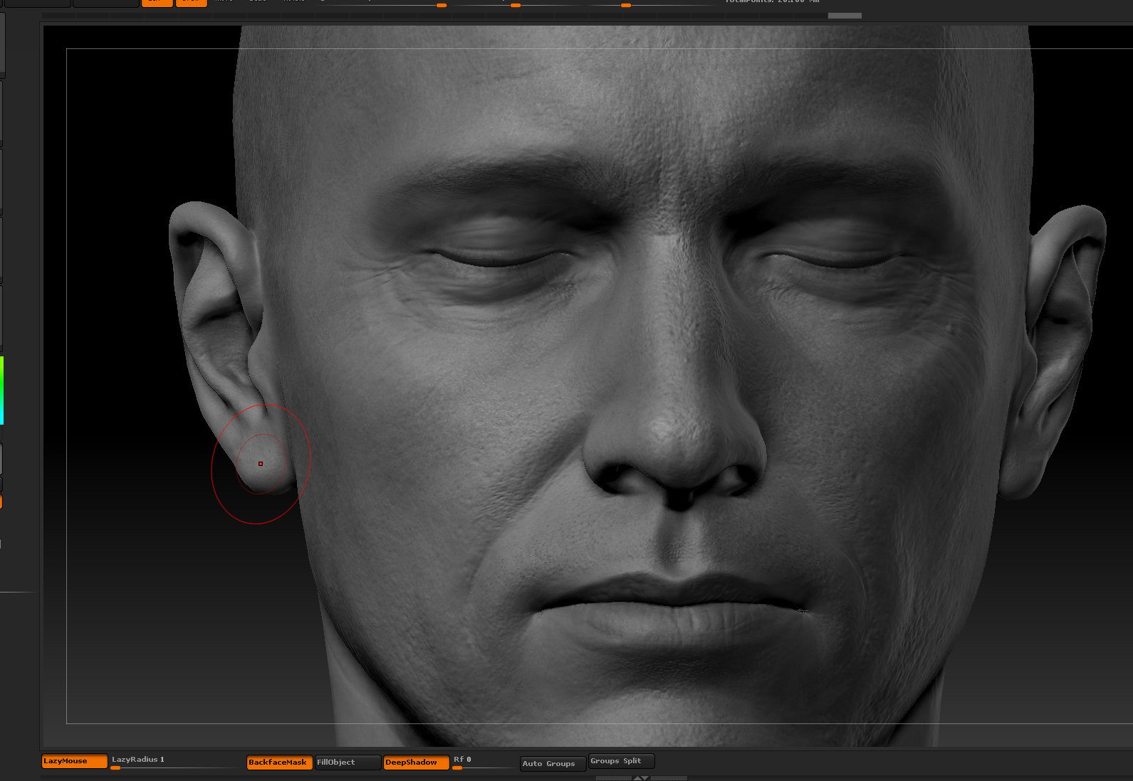 Ui joo moon head zbrush06