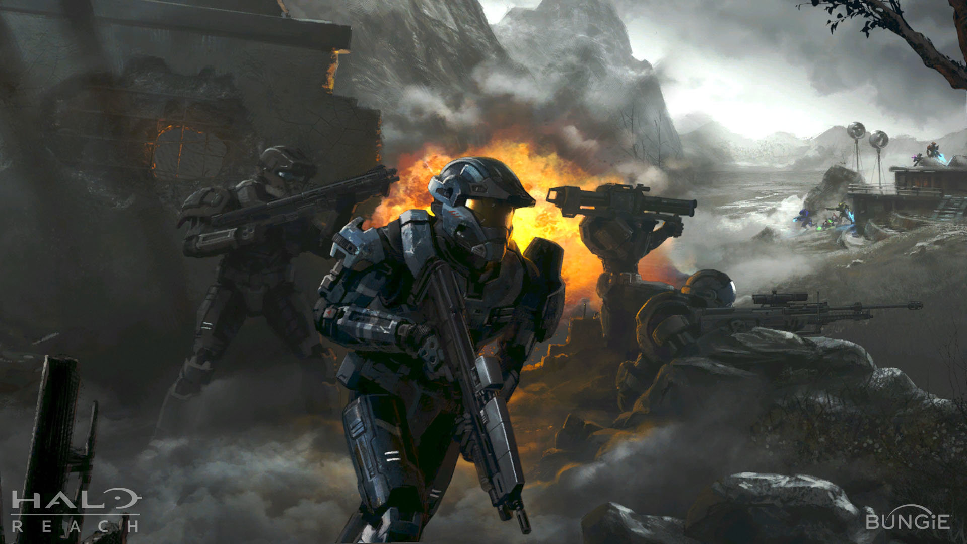 halo reach firefight