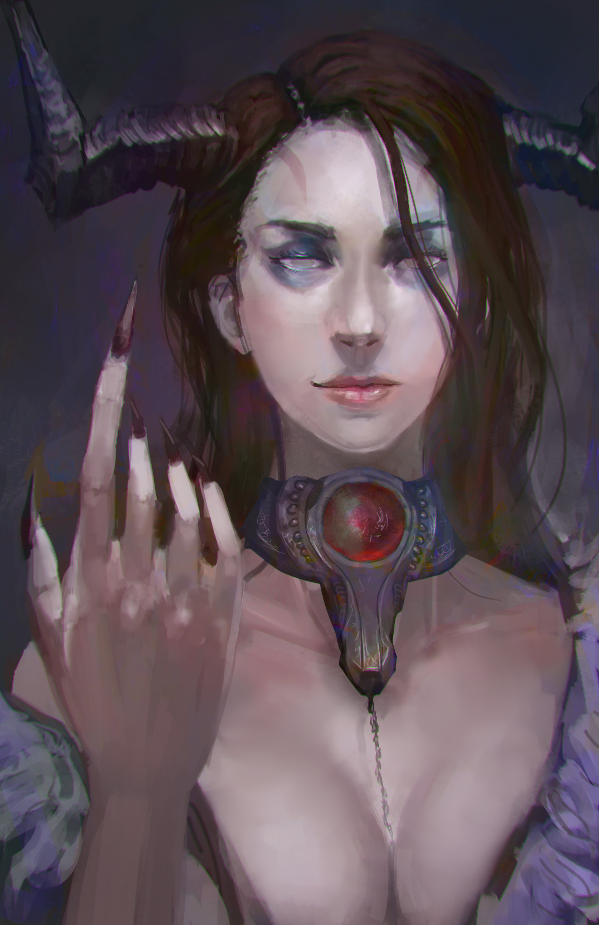 Jeff chen succubus close up
