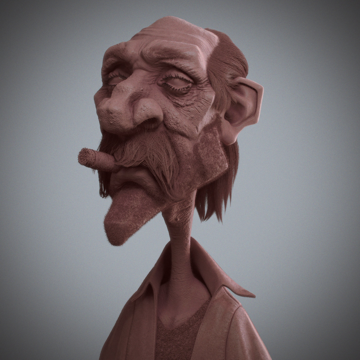 Antone magdy getting old clay