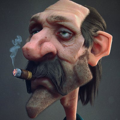 Antone magdy getting old render