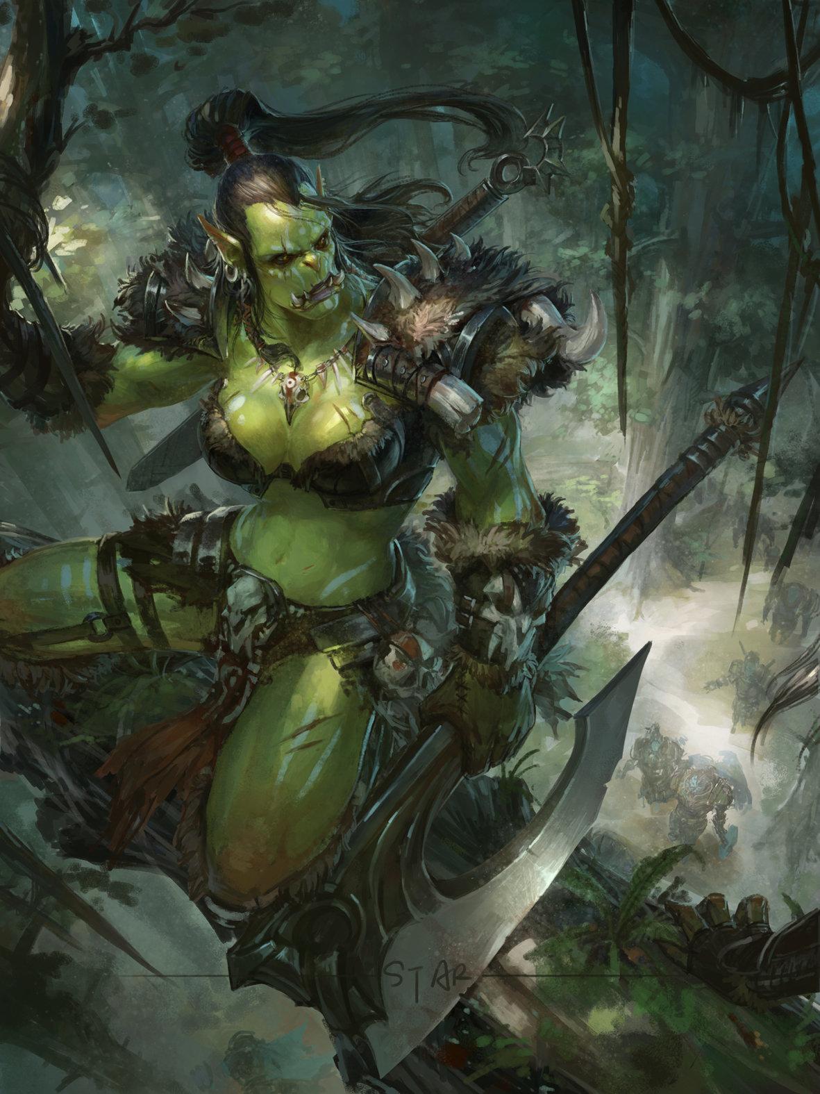 Orc woman erotic pics