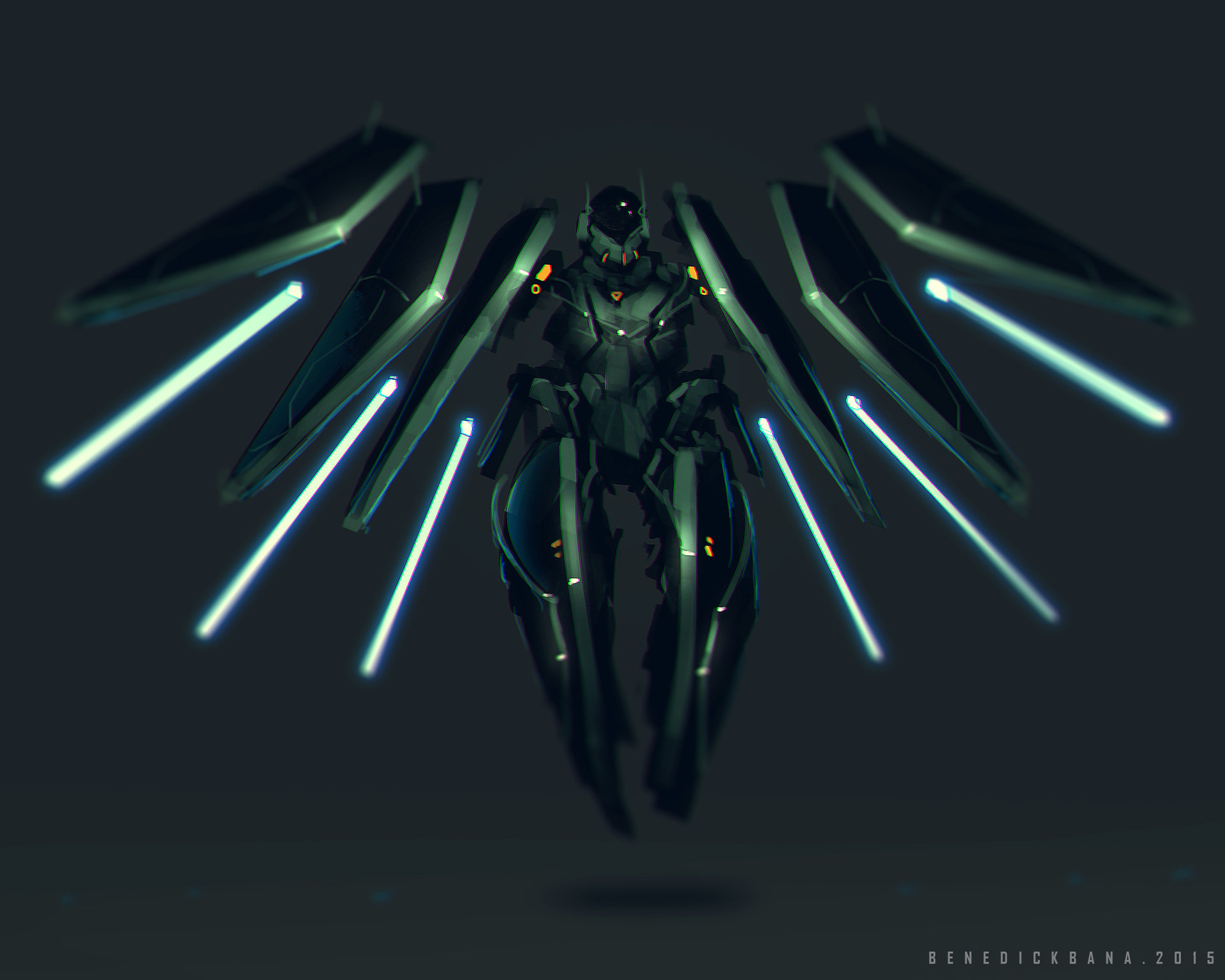 Benedick bana nasa self energy generator mobile mech
