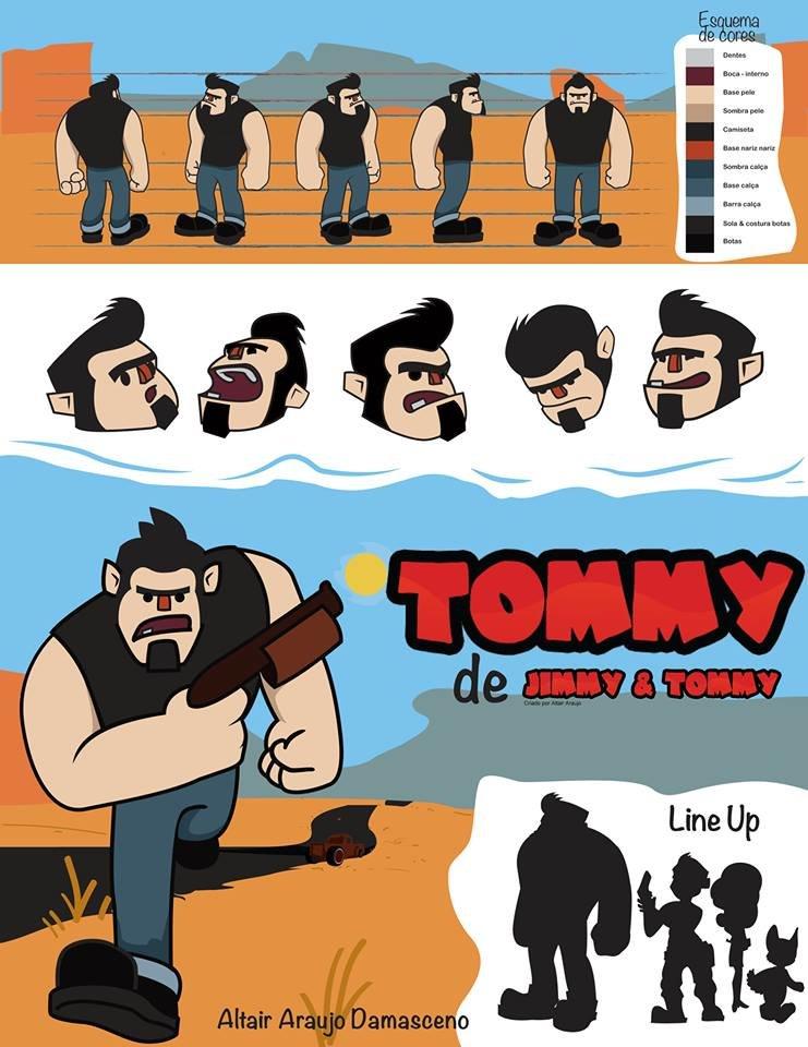 full character design study - Estudo completo para criação de personagem