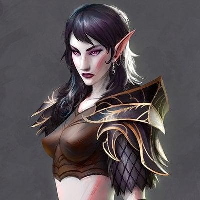 Magnus noren dark elf archer1