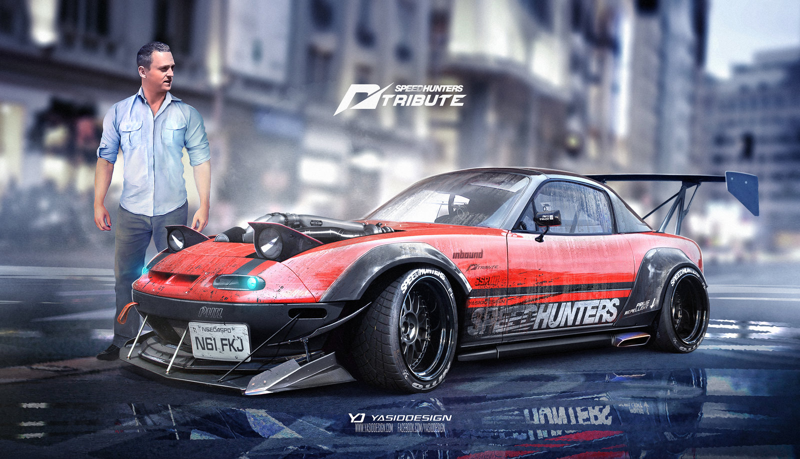 Speedhunters Need for speed tribute Alex and Phil Mazda Mx5