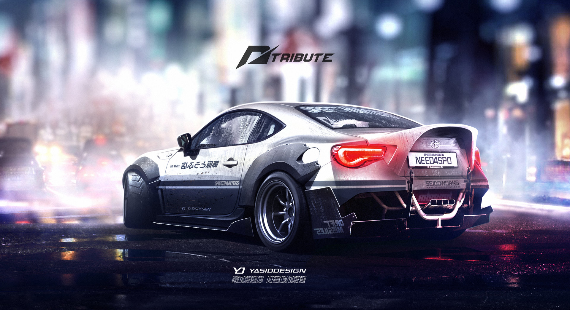 ArtStation - Speedhunters Toyota GT 86 Need for speed ...
