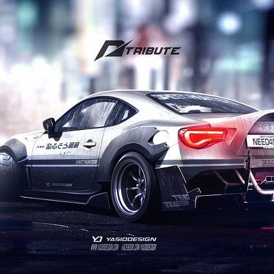 Yasid oozeear speedhunters toyota gt 86 need for speed tribute featuring seidoworks v2