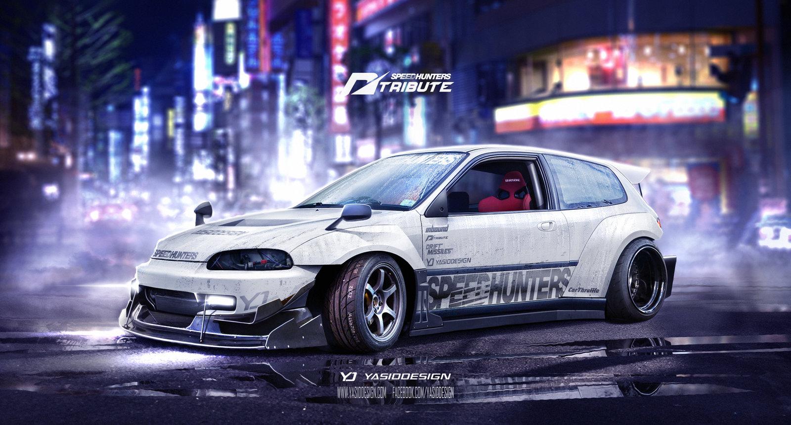 Speedhunters Honda Civic EG6 Need for speed tribute