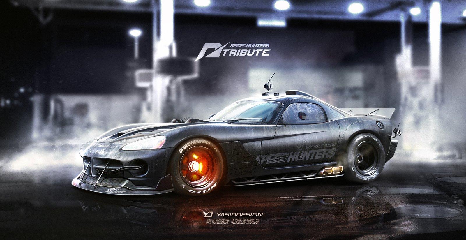 Speedhunters Dodge Viper SRT Need for speed V2