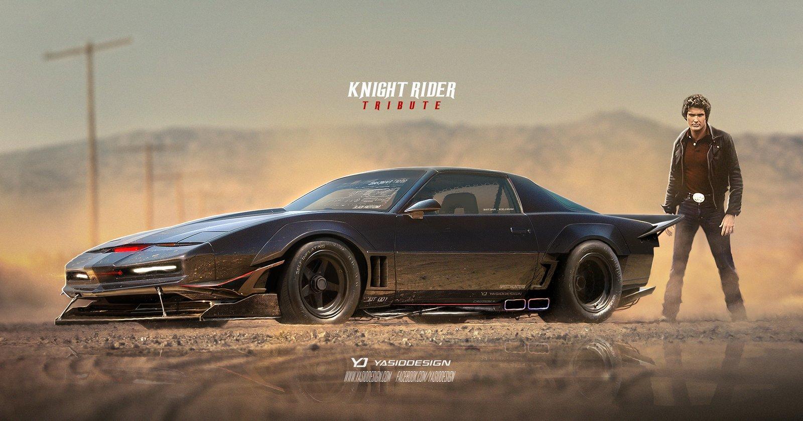 Knight Rider Tribute Pontiac Trans Ama