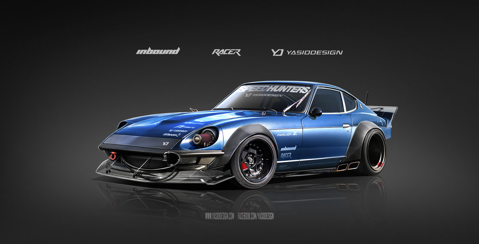 Inbound Racer 240Z Datsun Nissan