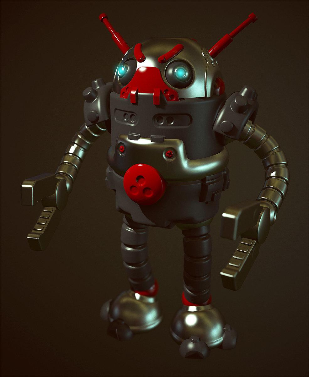Mike robinson marmoset robot