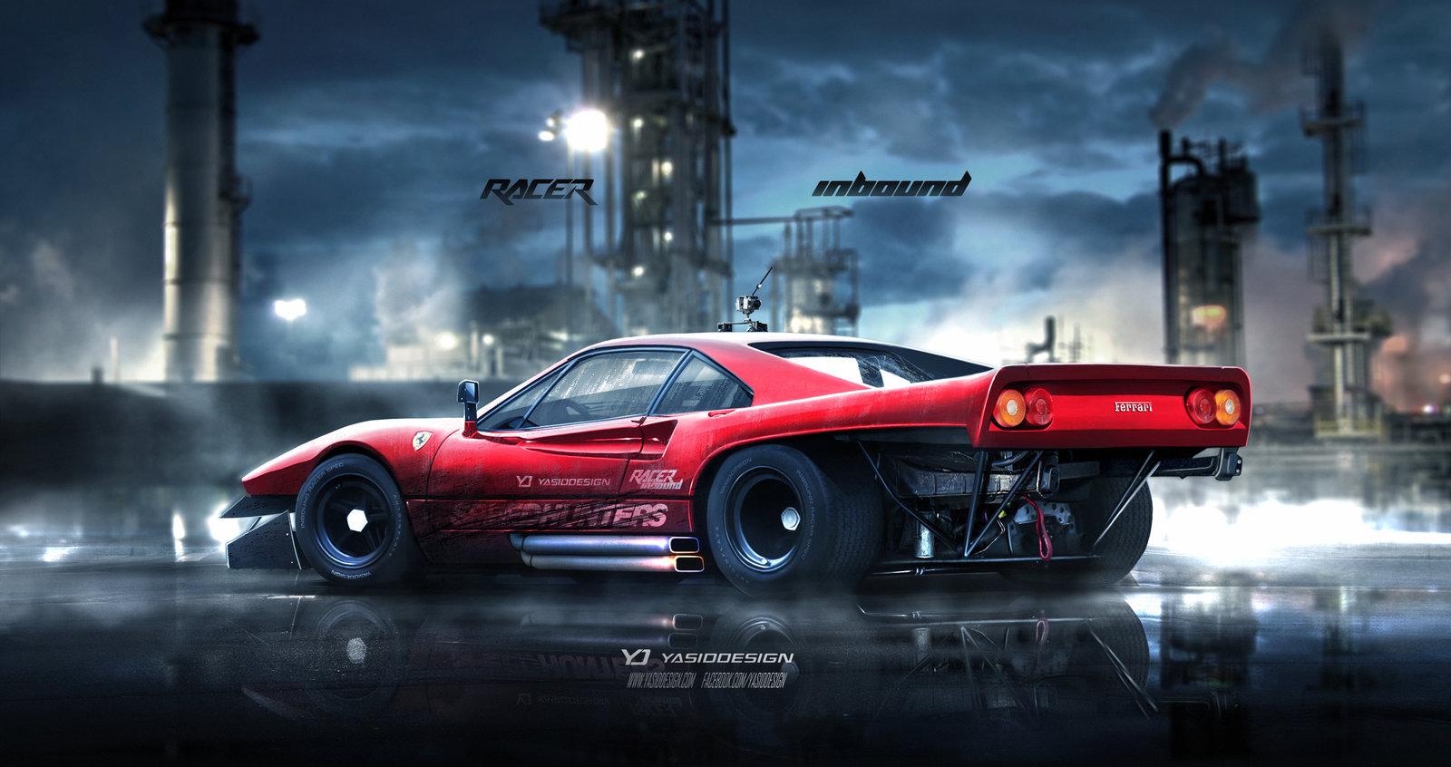 Inbound Racer Ferrari 288 GTO V2