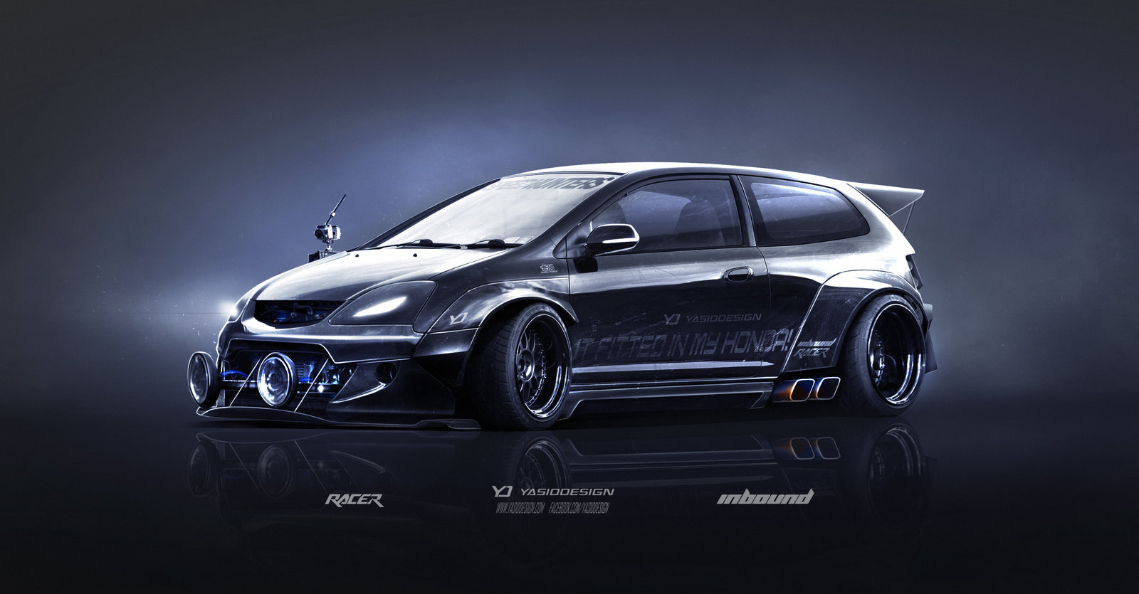 Honda Type R (EP3) Inbound racer