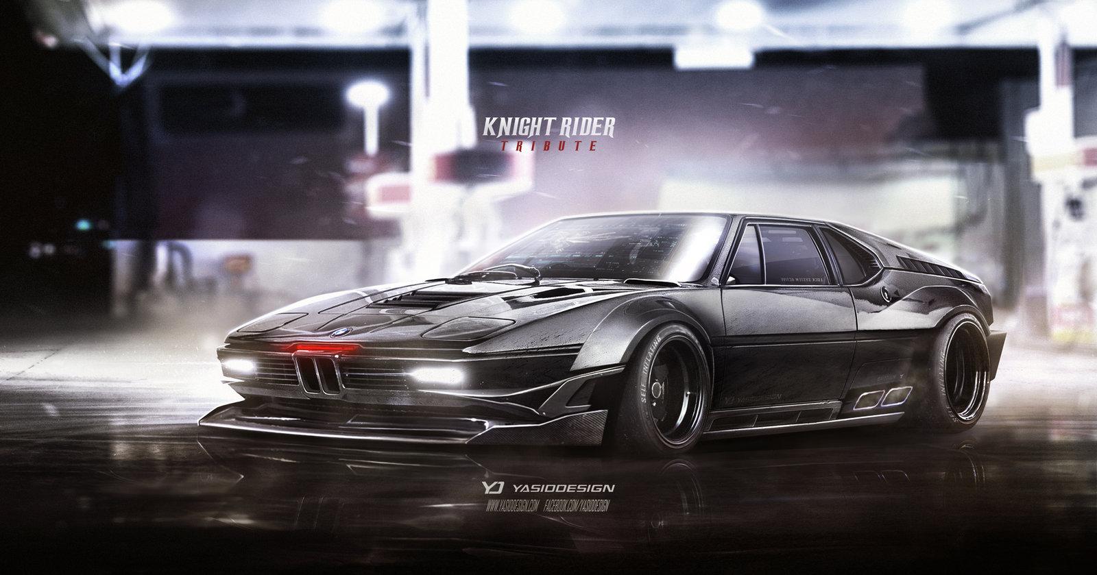 Knight Rider Tribute BMW M1 Procar KITT