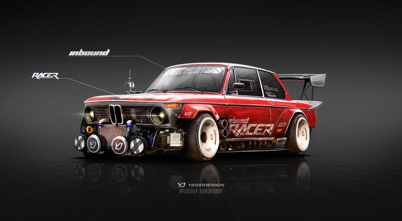 1974 BMW 2002 Inbound Racer