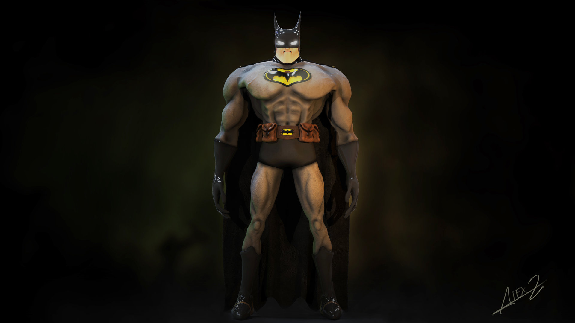 Alex zacares batman comp4