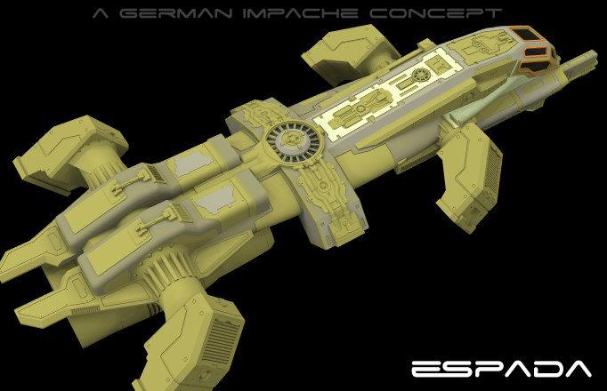 German impache espada proto 17