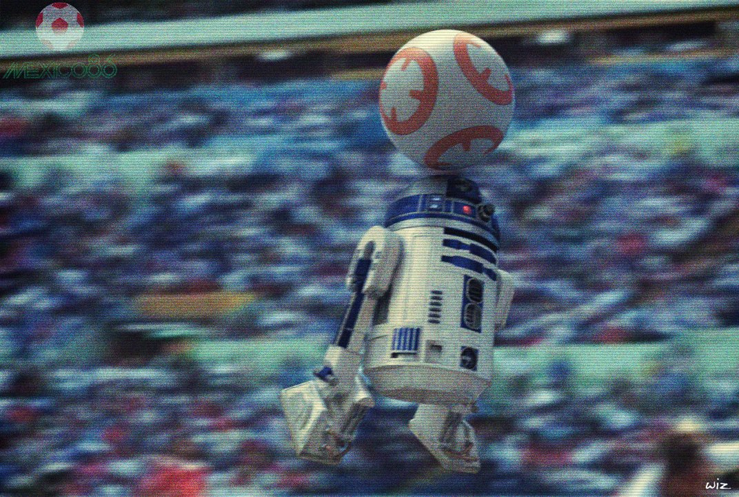 Paul johnson r2d2 worldcup