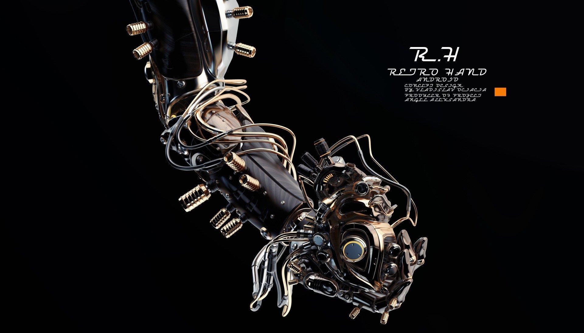 Vladislav ociacia robotic hand hold heart 8