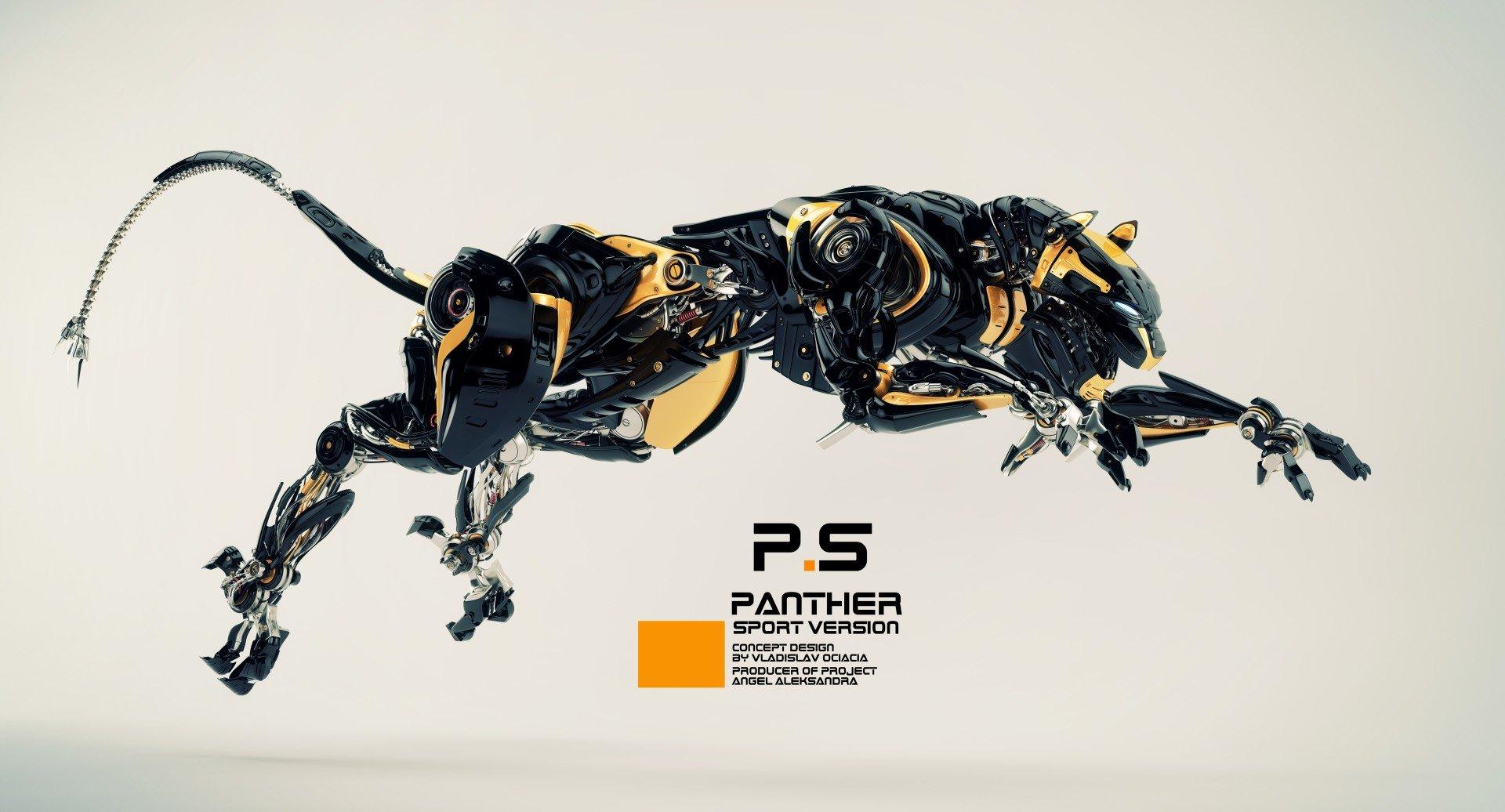 Vladislav ociacia robotic panther 10