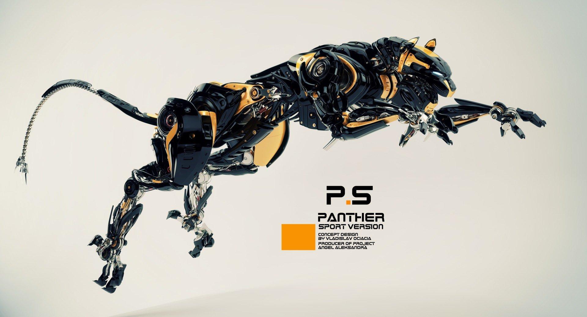 Vladislav ociacia robotic panther 13