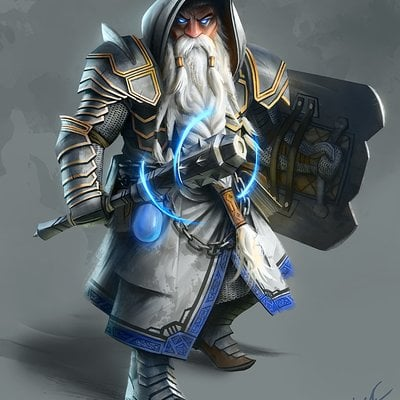 Magnus noren dwarf cleric1