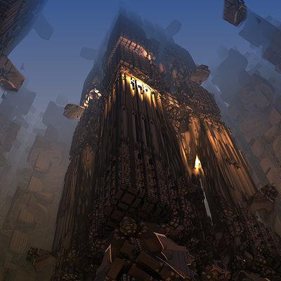 Initzs valery nettavongs chocolate burning tower by initzs d5irxmf