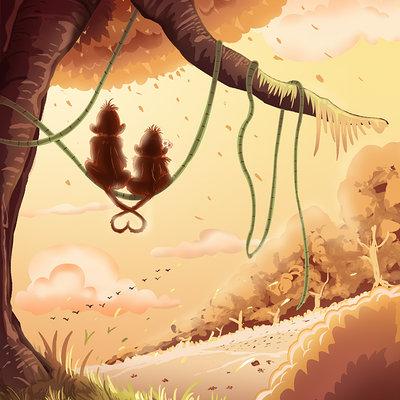 Vipin jacob orangutans forest