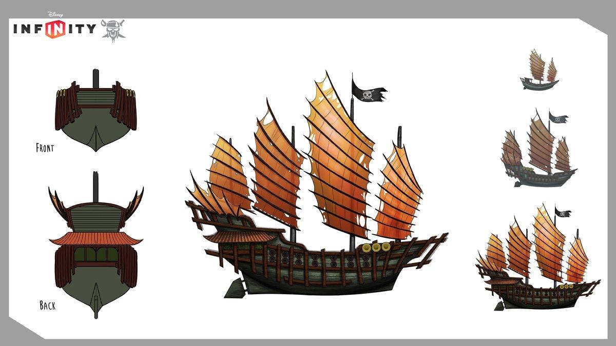 The largest Sau Feng fleet ship
