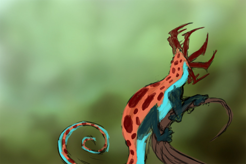Orm irian alienchameleon01