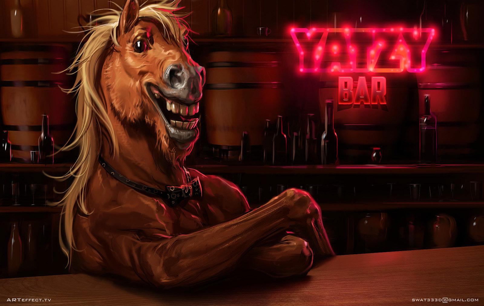 Sviatoslav gerasimchuk laughs horse