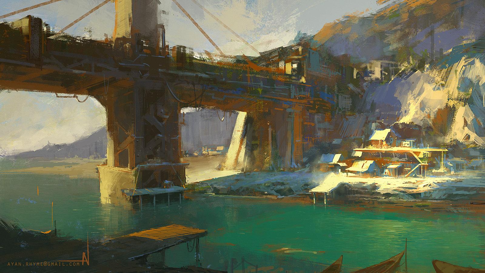 Ayan nag old fishing town by ayan nag lowres