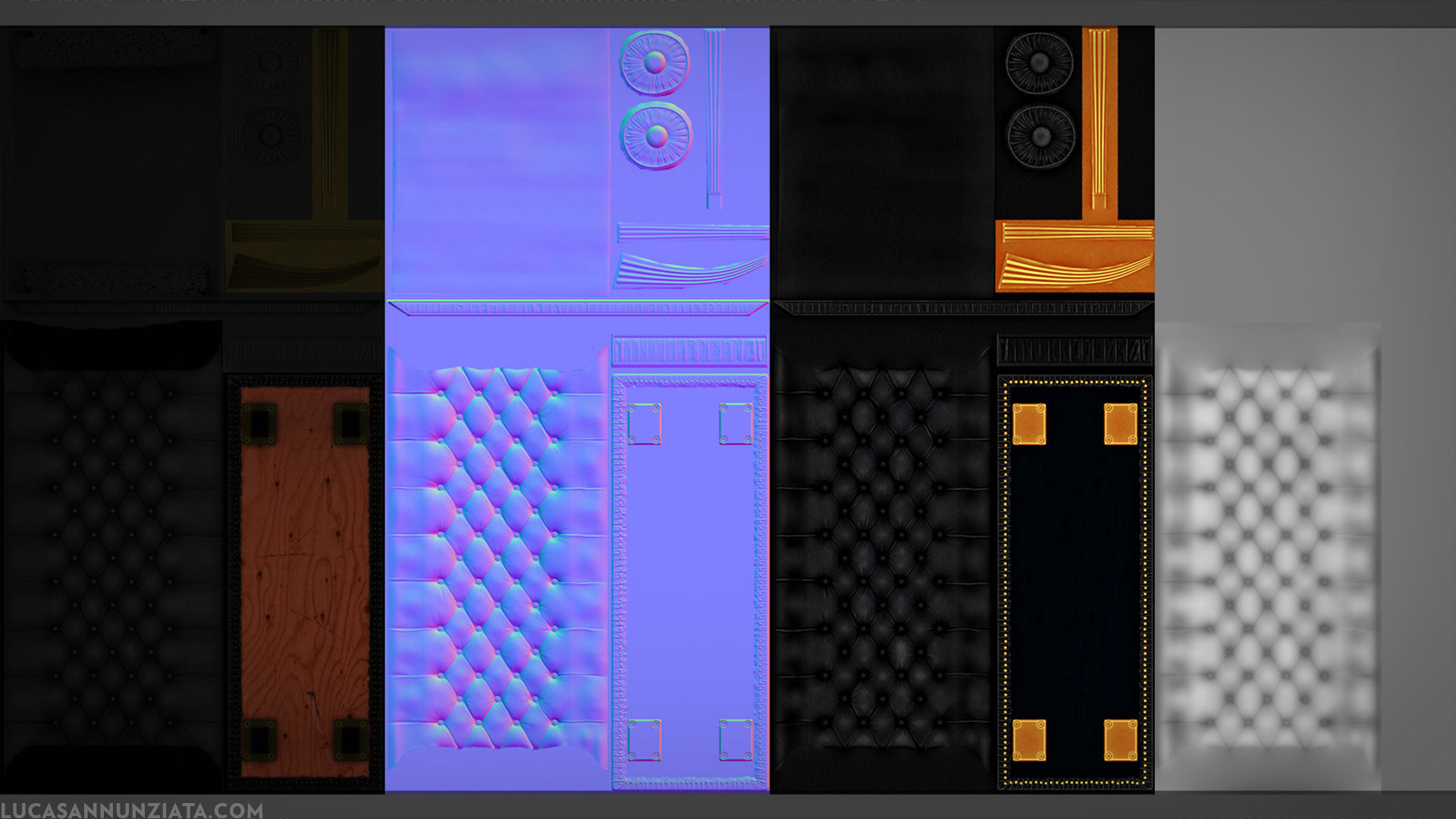 Lucas annunziata bench texture