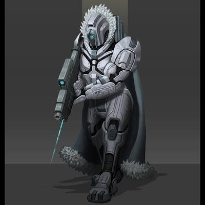 Travis lacey sci fi bounty hunter soldier concept conceptart conceptual design art artist travis lacey web