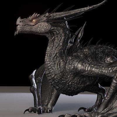 Truong chau dragon maya rig truongcgartist