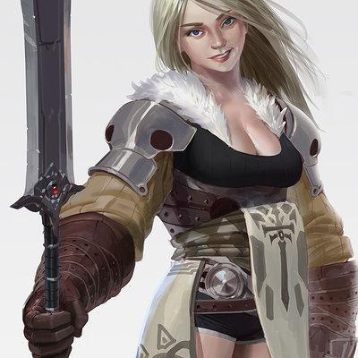 Mingchen shen spearwoman