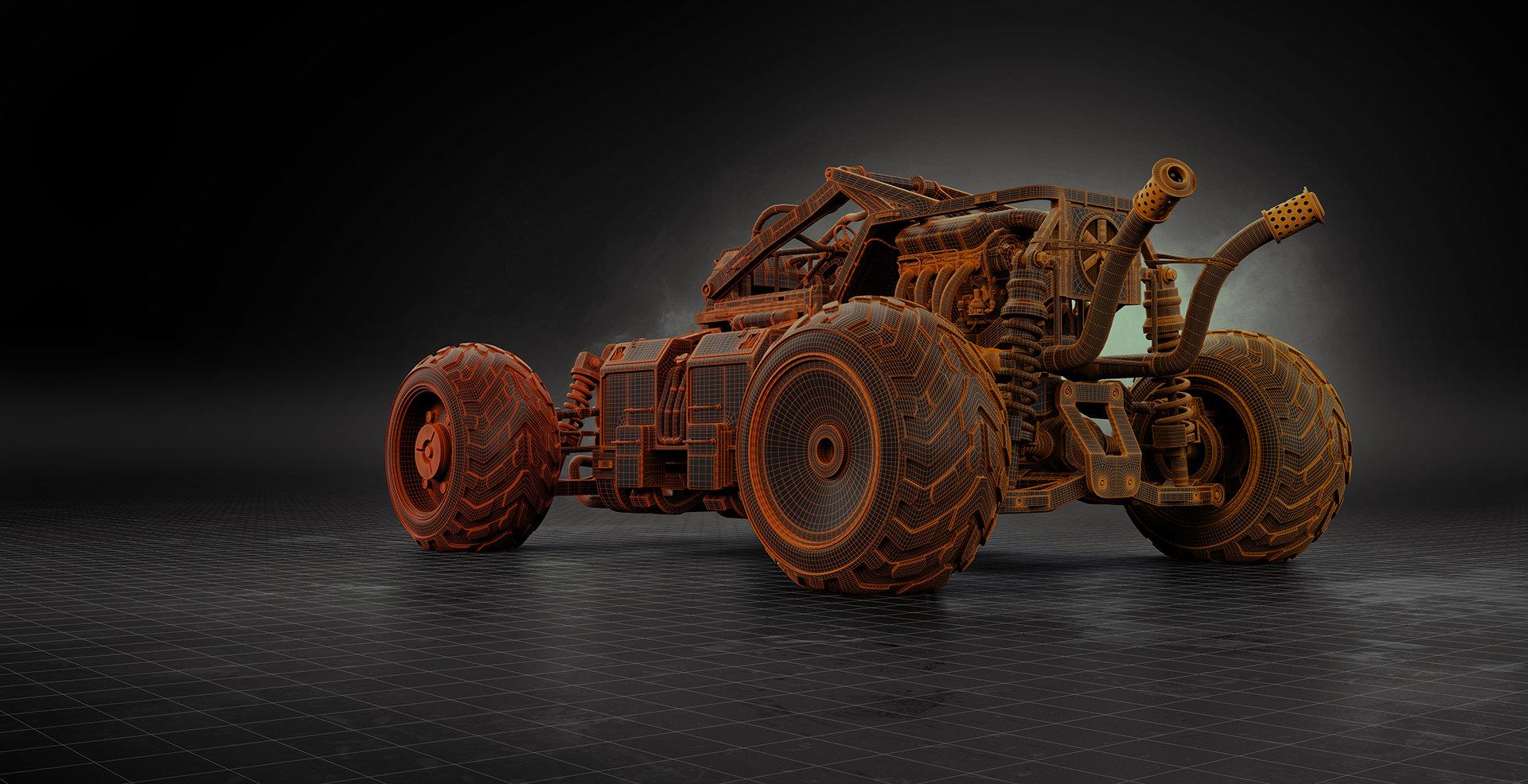 Alexandr novitskiy buggy studio mesh 02
