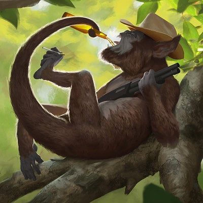 Stephen stark monkey