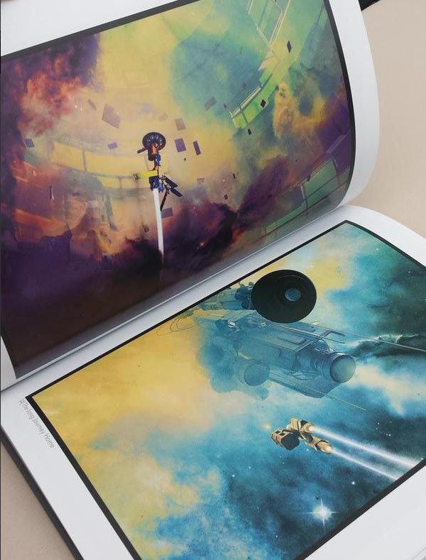 Artbook: DERELICT PLANET