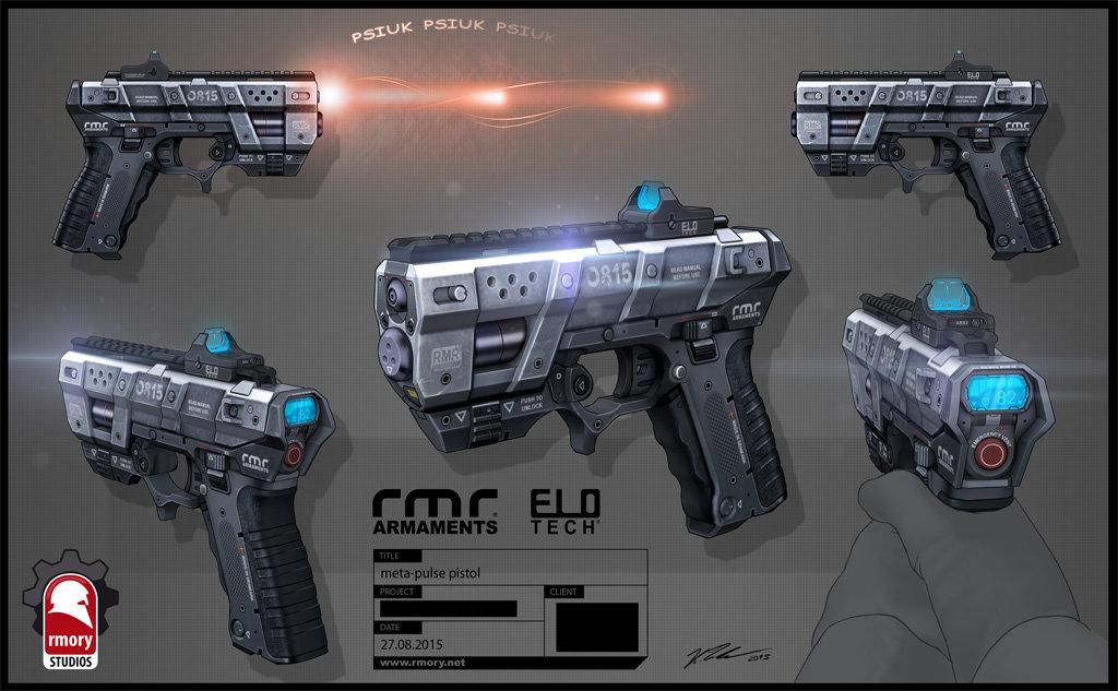 Meta Pulse Pistol - rmory studios