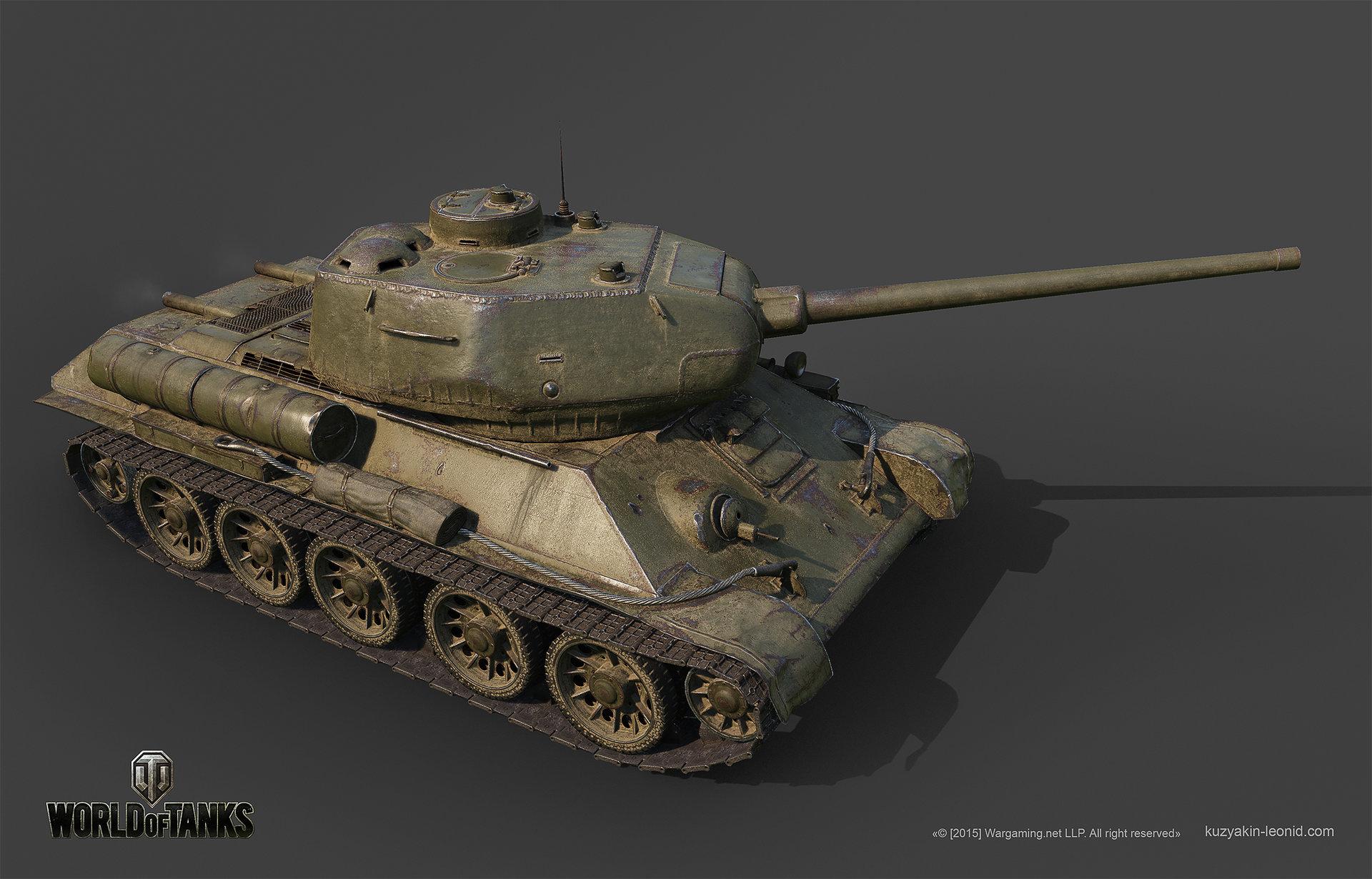 Leonid kuzyakin t 34 85m 02