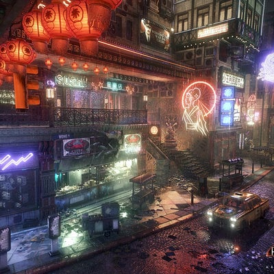 d16675960de36 Batman Arkham Knight - Chinatown