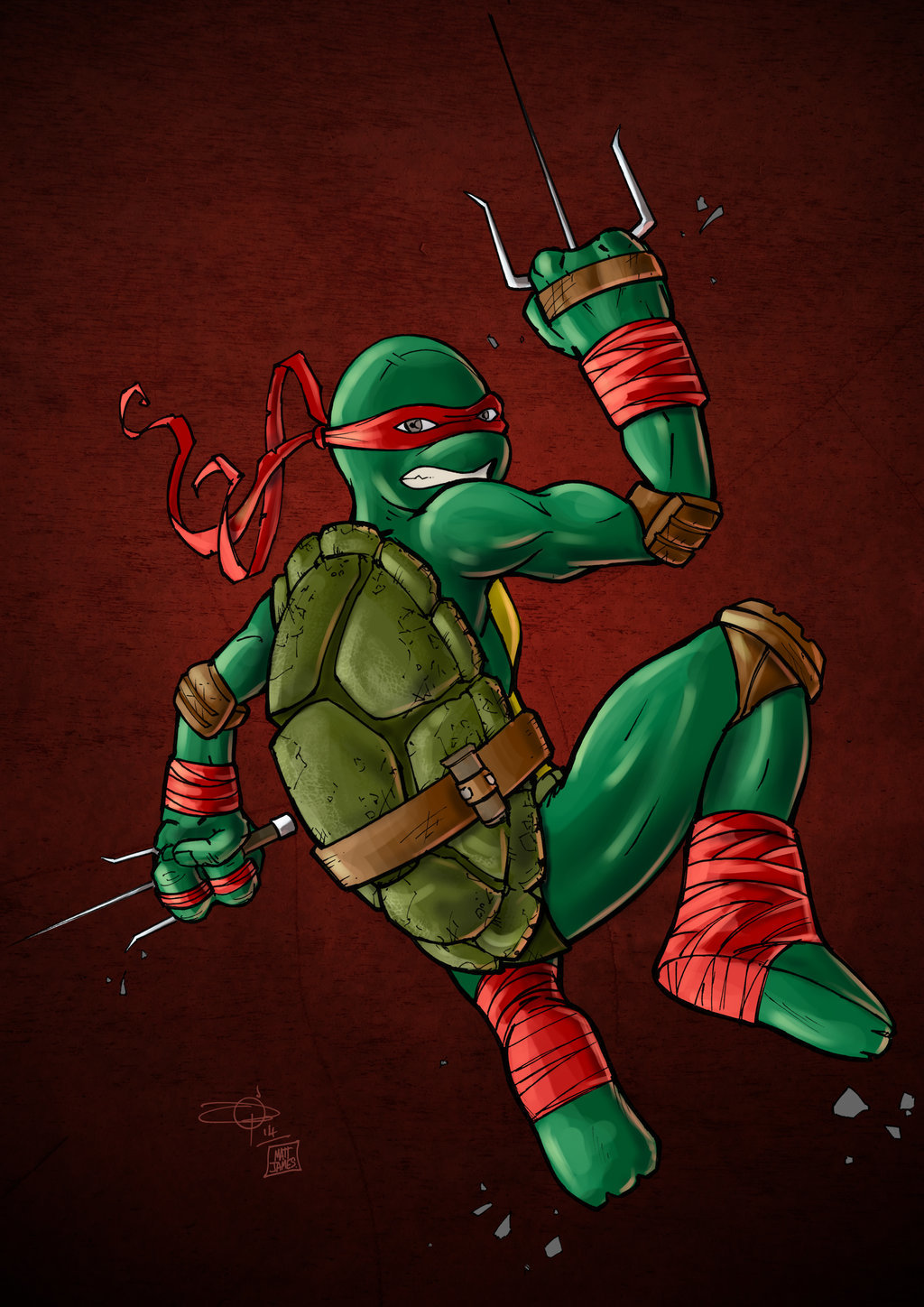 Matt james raph by mattjamescomicarts d87fz6l