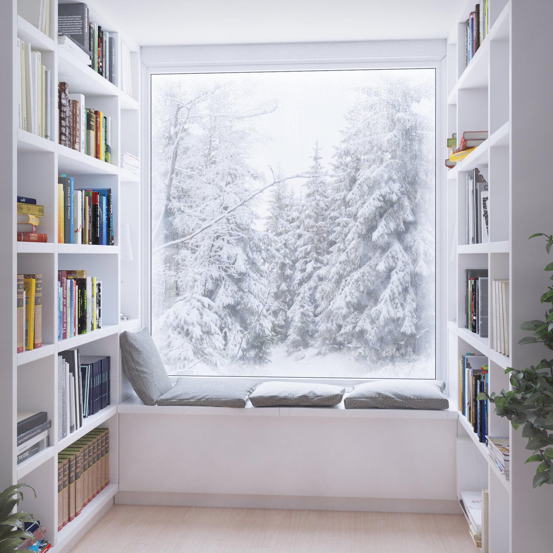 Francois bethermin reading nook