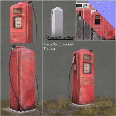 100rab kumar vintage fuel pump