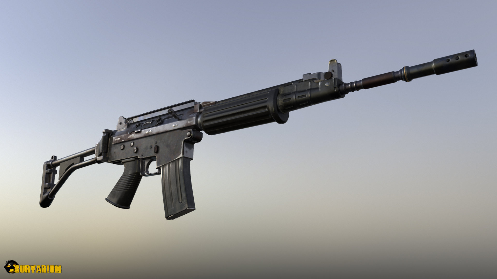 artstation fn fnc rifle alexander sitak