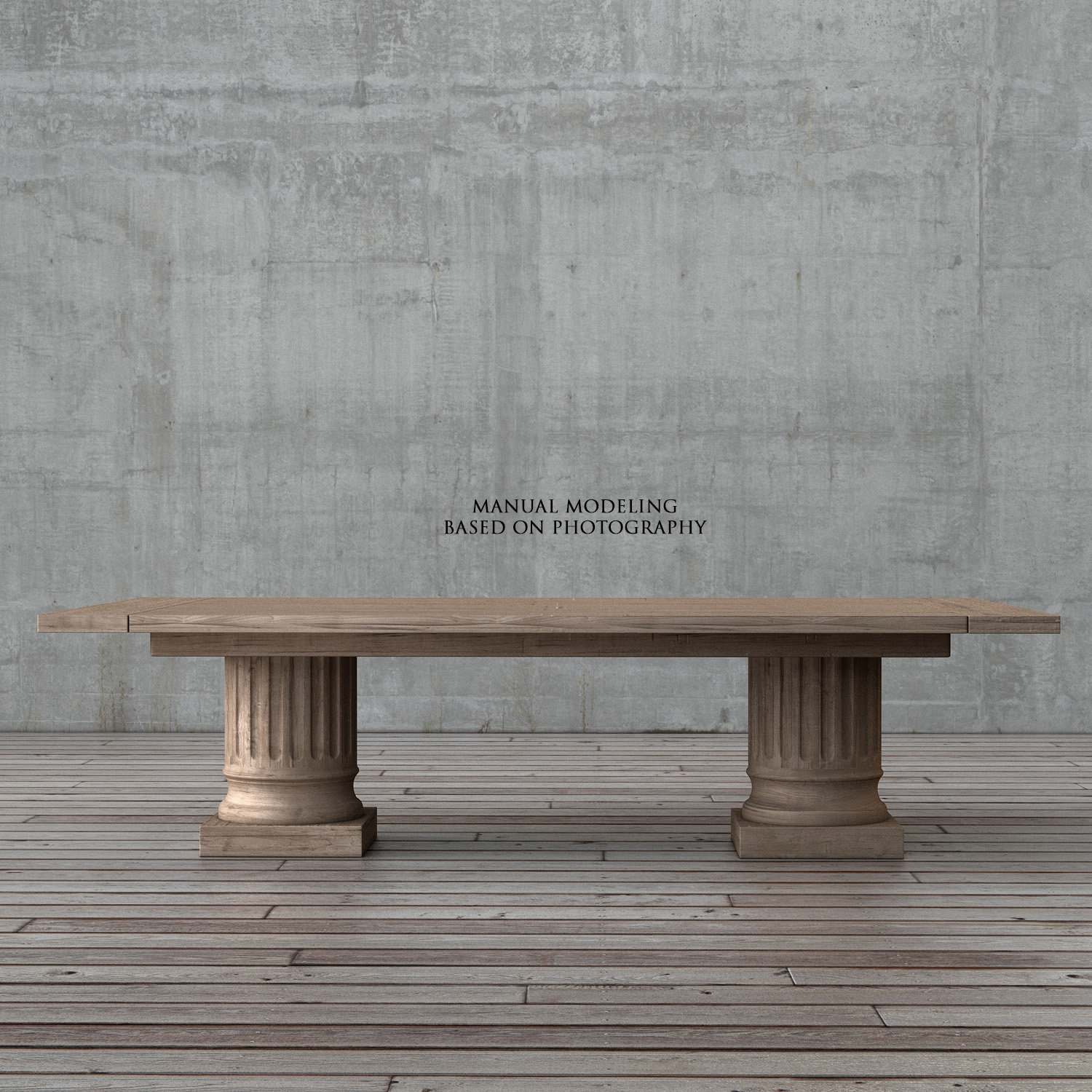 Restoration Hardware Columntable 01